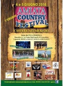 1° Amiata Country Festival 4-5 giugno 2016 @ Castell'azzara   Toscana   Italia