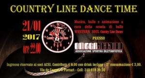 Country Night all'Asd Omega