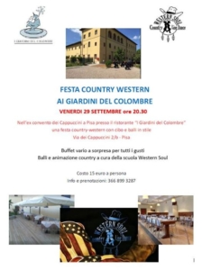 Country al Colombre @ i giardini del colombre | Pisa | Toscana | Italia