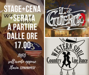 Stage+Cena+Serata a Lucca @ ristorante Il Guercio
