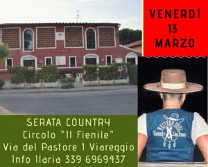 ANNULLATO Country............a Viareggio @ Circolo Il Fienile
