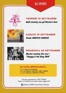 Happy 1st Birthday America Graffiti @ Calcinaia   Toscana   Italia
