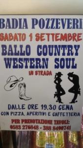 Ballo country in strada @ Altopascio | Italia