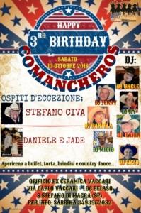 Happybirthday Comancheros @ Santo Stefano di Magra | Liguria | Italia