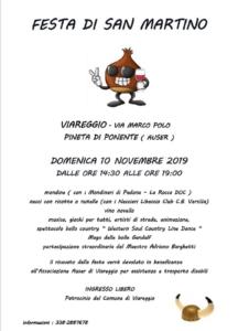 Festa della Castagna-Viareggio @ auser