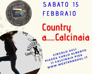 Country............a Calcinaia-PI @ Circolo Acli e Oratorio